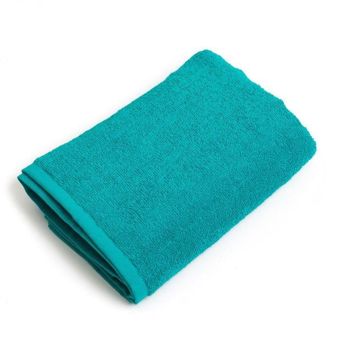"""Полотенце махровое """"Экономь и Я"""" 30х30 см светло-зеленый 100% хлопок, 340 г/м2"""
