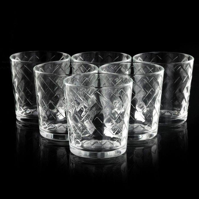 "Набор стаканов 250 мл ""Этюд"", 6 шт"