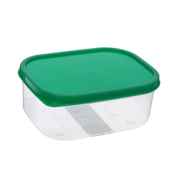 Контейнер пищевой 500 мл, цвет зелёный