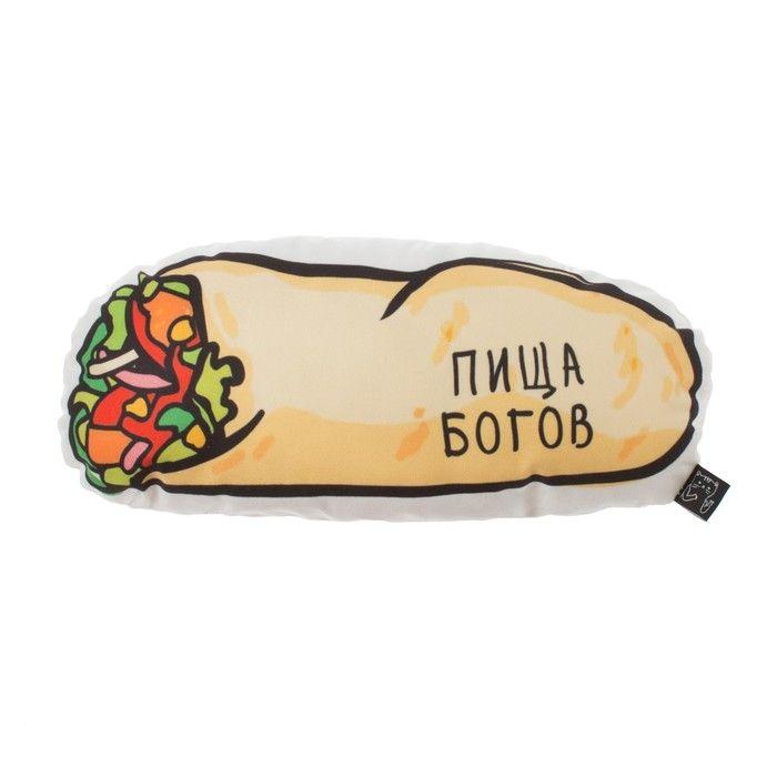 """Подушка декоративная """"Пища Богов"""", 40х20 см, велюр, 100% п/э"""