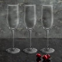 Набор фужеров для шампанского 190 мл Tulipe, 3 шт