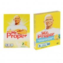 """Универсальный моющий порошок для уборки MR PROPER """"Лимон"""", 400 г"""