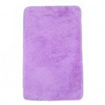 """Коврик для ванной """"Пушистик"""" 50х80 см, цвет сиреневый"""