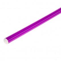 Палка гимнастическая, 100 см, цвет фиолетовый