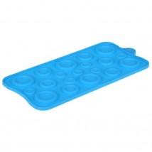 """Форма для льда и шоколада, 19 ячеек, 22х10,5 см """"Пуговки"""", цвета МИКС"""