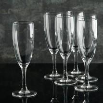 """Набор фужеров для шампанского 170 мл """"Французский ресторанчик"""", 6 шт"""