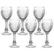 """Набор фужеров для вина 250 мл """"Мельница"""", 6 шт"""