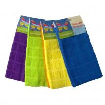 Набор полотенец, размер 30х60 см-2 шт., цвет МИКС, 280 г/м2
