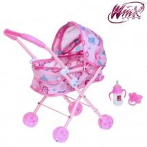 Игровой набор: коляска-люлька для куклы и аксессуары, металл, феи ВИНКС: Блум