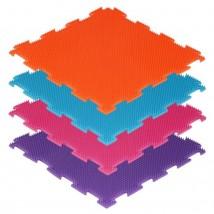Напольное покрытие «Орто. Трава жёсткая», 1 модуль, цвета МИКС