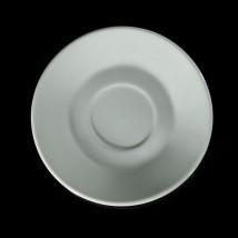 """Блюдце кофейное d=11,5 см, """"Мокко"""", цвет белый"""