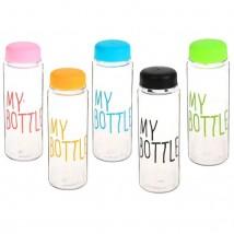 Бутылка питьевая My bottle, 600 мл, микс