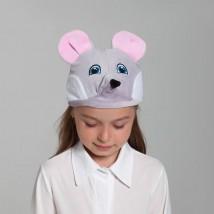 Шапка «Мышь» хлопок, размер 52-57
