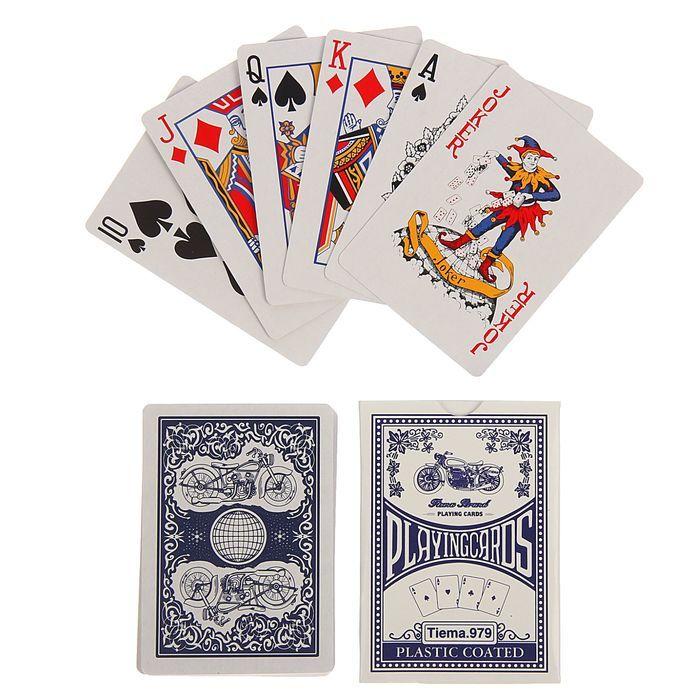 Игральные карты из бумаги